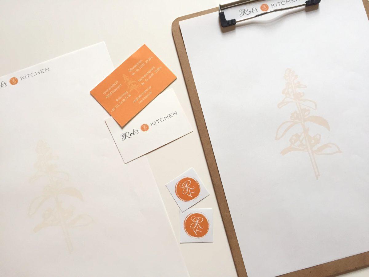 Speisekarten, VK, Sticker