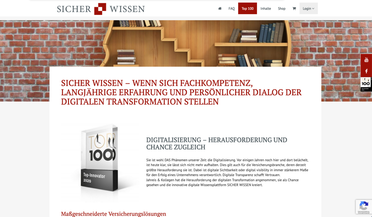 Top 100 - Digitalisierung